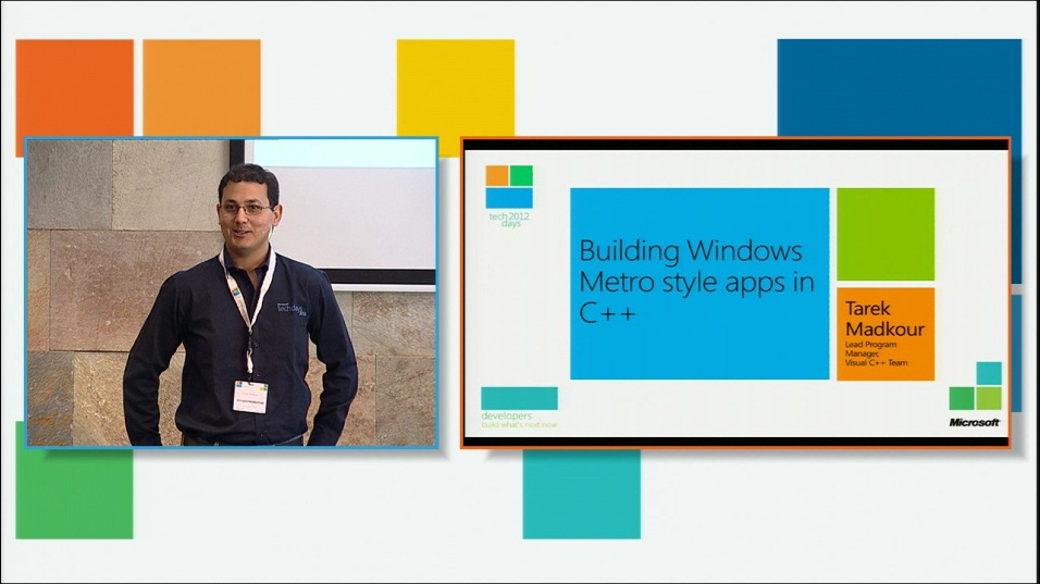 Building Windows 8 Metro style Applications using C++