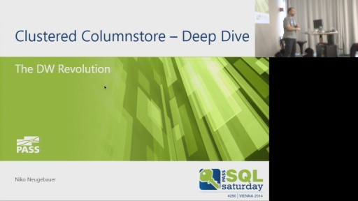 SQL Saturday 280 - Clustered Columstore