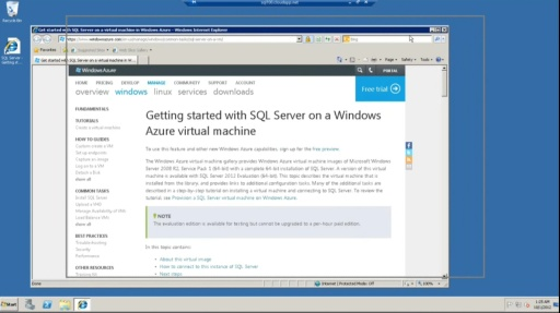 TechNet Radio: Virtually Speaking with Yung Chou – How to Deploy & Configure a SQL Server Windows Azure Virtual Machine