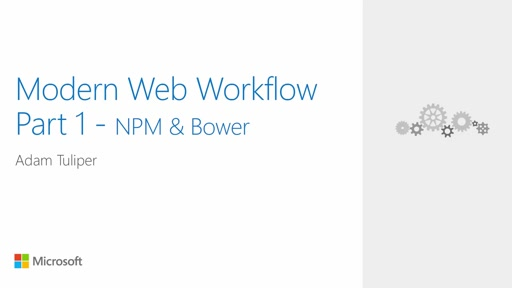 Web.Dev 13: Modern Web Workflow