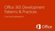 JavaScript injection in SharePoint Online - Office 365 Developer Patterns and Practices