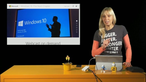 News Show #24: Windows 10 Event verpasst? User Voice, Azure Konferenz, TOP Windows 10 Kurs, PowerShell DSC Jump Start, ADFS Deep Dives, SaaS Apps...