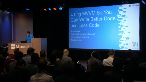 Using MVVM So You Can Write Better Code and Less Code