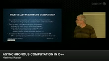 Asynchronous Computation in C++