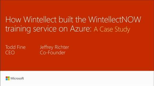 Examine how Wintellect built the WintellectNOW video service on top of Azure