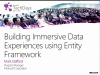 TechDays 11 Bern - Building Immersive Data Experiences using Entity Framework