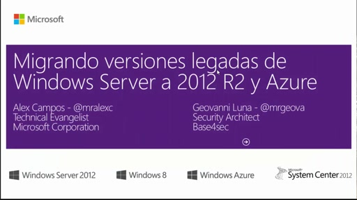 Módulo III - Migrando Clusters a Windows Server 2012 R2