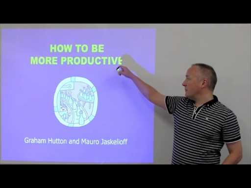 C9 Lectures: Graham Hutton - How To Be More Productive