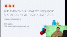 Demo: Implementing a 'Nearest Neighbor' Spatial Query with SQL Server 2012