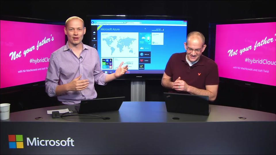Azure's new Hybrid Connections - not your father's #hybridCloud