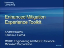 Enhanced Mitigation Experience Toolkit 2.0