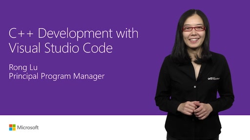 C++ development in Visual Studio Code
