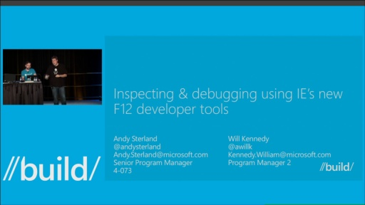 Inspecting & Debugging Using the New F12 Developer Tools in IE