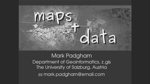 Maps are data, so why plot data on a map?