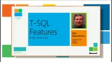 T-SQL improvements in SQL Server 2012
