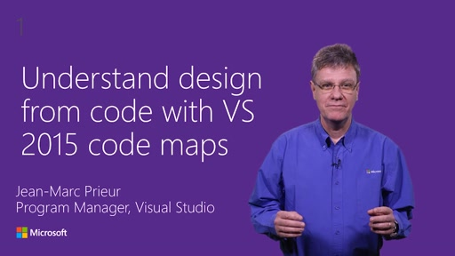 Understand design from code with Visual Studio 2015 code maps