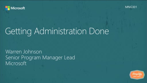Exchange Admin Center - getting administration done