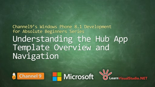 Part 15 - Understanding the Hub App Template Overview and Navigation