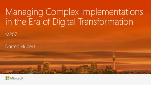 Managing Complex Implementations in the era of Digital Transformation
