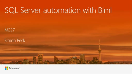 SQL Server automation with Biml