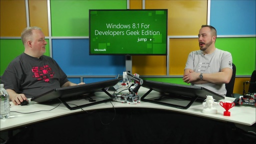Windows 8.1 Developer Training, Geek Edition : (06) USB and Robotics