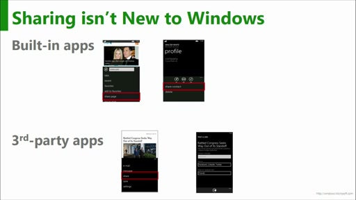 A Developer's Guide to Windows 10: (22) Sharing and Drag-and-Drop