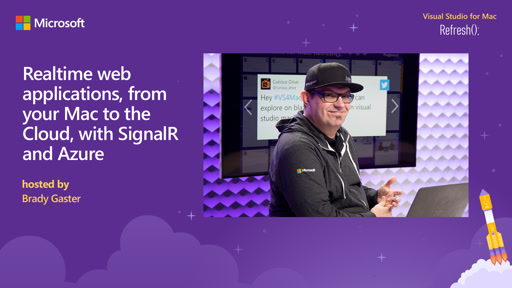 Realtime web applications, from your Mac to the Cloud, with SignalR and Azure