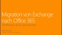 Migration von Exchange nach Office 365