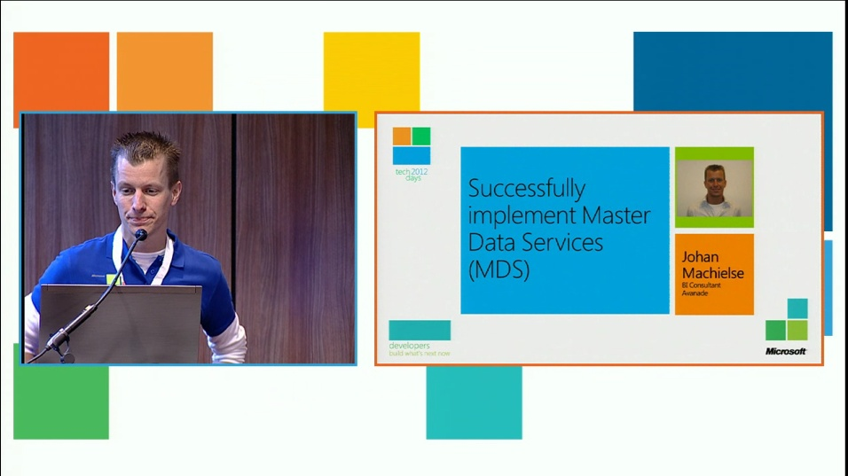 Successfully implement Master Data Services (MDS)