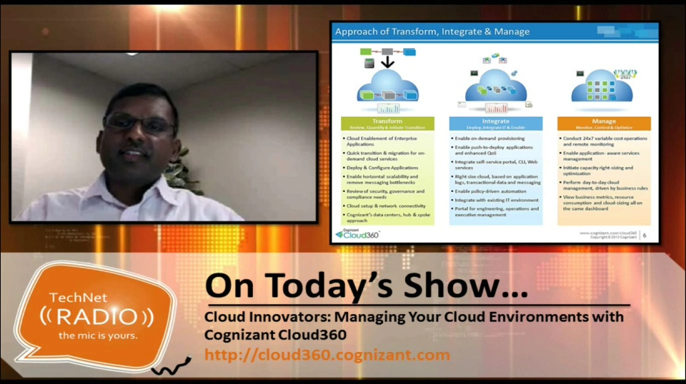 TechNet Radio: Cloud Innovators – Managing Your Cloud Environment with Cognizant Cloud360