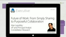 The Shift From Simple Sharing To Purposeful Collaboration