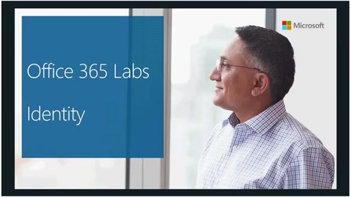 Support Corner Webcast: Office 365 Labs (Part 1 of 4) – Identity