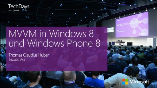 MVVM in Windows 8 und Windows Phone 8