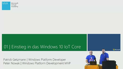 01|1 Einstieg in das Windows 10 IoT Core