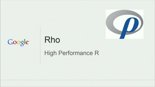 Rho: High Performance R