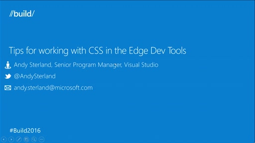 Tips for Working with CSS in the Edge Dev Tools