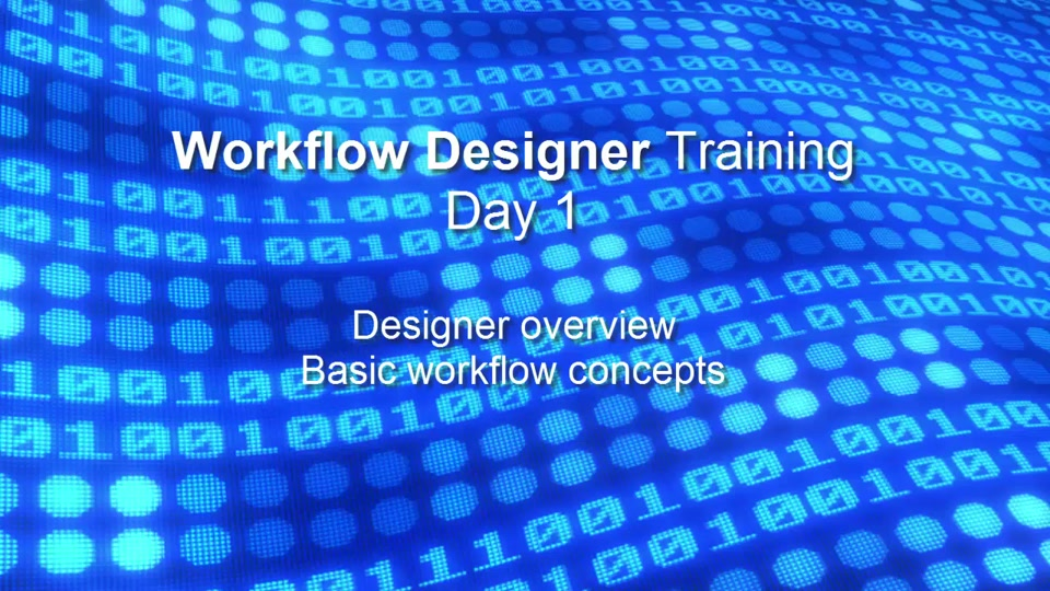 Azure Premium Encoder Workflow Designer Training Videos - Day 1