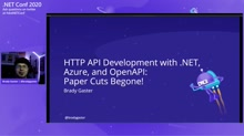 HTTP API Development with .NET, Azure, and OpenAPI: Paper Cuts Begone!