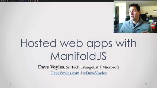 Creating and debugging hosted web apps with ManifoldJS and VorlonJS