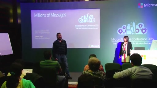 Day 1 : Chalk Talk Meeting Room 4- Millions of Messages from Multiple Devices