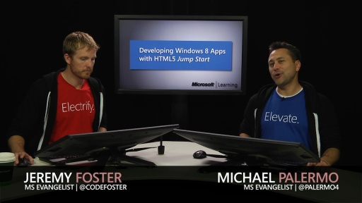 Developing Windows Store Apps with HTML5 Jump Start: (04a) UI and Controls, Part 1