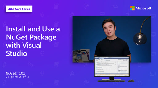 Install and Use a NuGet Package with Visual Studio [2 of 5]