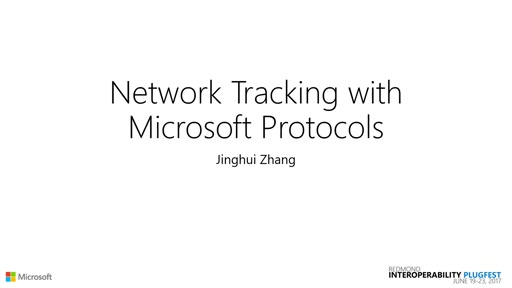 Network Tracing with Microsoft Protocol