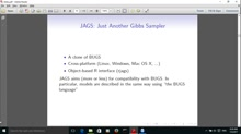 Introduction to Bayesian inference with JAGS