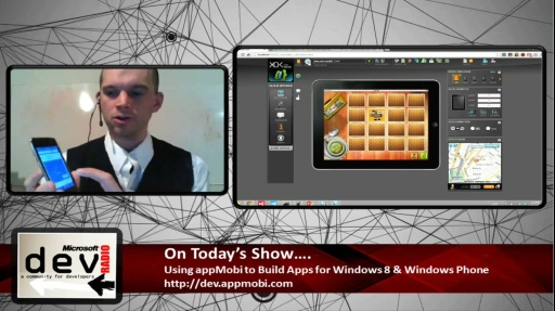 Microsoft DevRadio: Using appMobi to Build Windows 8 & Windows Phone Apps