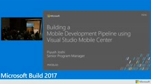 Building a mobile development pipeline