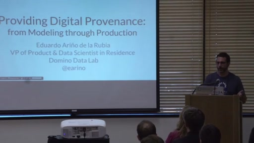 Providing Digital Provenance: from Modeling through Production