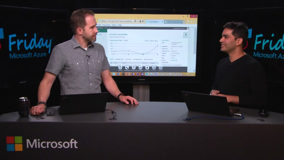 Rendering 3D Modelled Scenes with Azure Batch with Karan Batta
