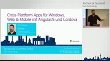 Cross-Plattform Apps für Windows, Web & Mobile mit AngularJS und Cordova