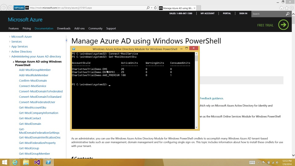 Assign EMS/Azure AD Premium licenses with PowerShell